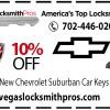 Chevrolet Suburban Car Keys – Lost Key Replacement Save 10%!