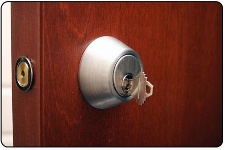 rekeying a home door lock